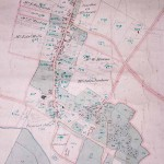 Historical map of Great Gidding 1869
