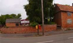 Village street scene prior to redevelopment.