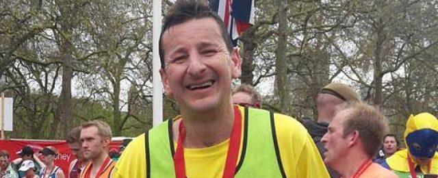 Dan the marathon man
