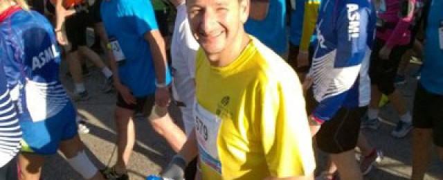 Dan's marathon for Barnardo's