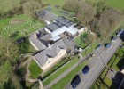 Great Gidding School aerial view 1