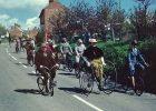 Cycle parade - Great Gidding May Fayre 1982