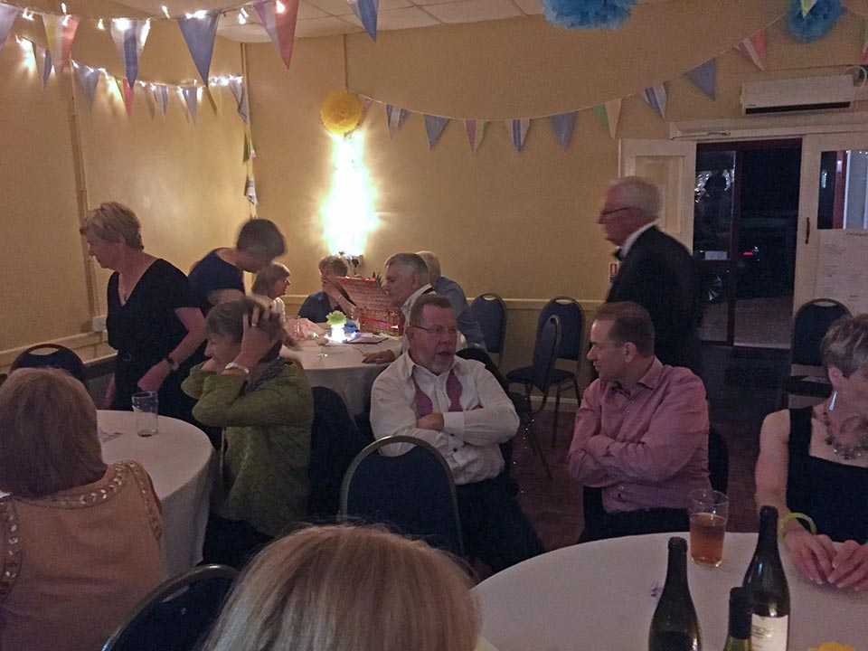 Swing Band Success at Great Gidding Village Hall raises over £1,000