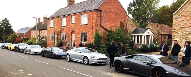 Supercars in Great Gidding