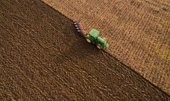 Farming in Great Gidding - ploughing Autumn 2016 IV
