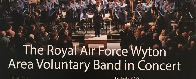The Royal Air Force Wyton Area Voluntary Band in Concert