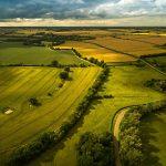 Great Gidding skyscape - Towards Luddington