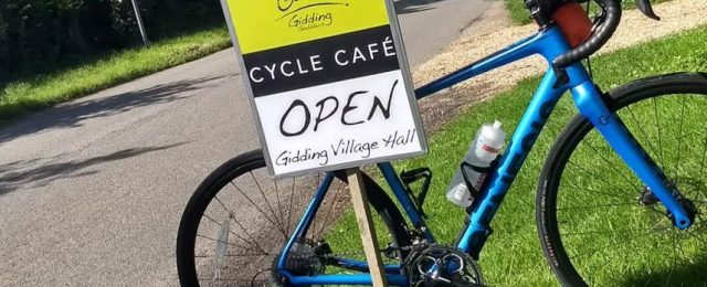 Gidding Gobblers Café is open this Sunday October 6th from 10am until 2pm