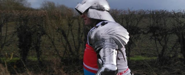 Paul's record breaking armour challenge