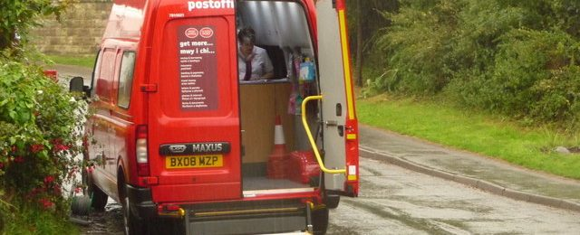 Mobile Post Office back to normal