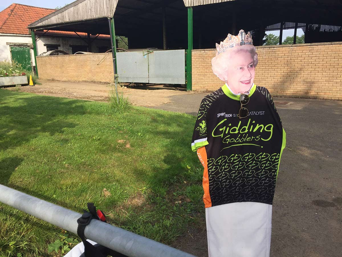 Tour of Cambridgeshire passes through Great Gidding