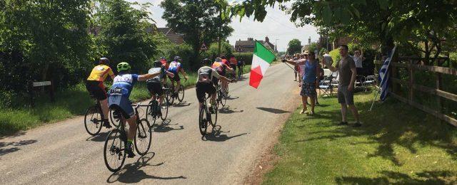 Tour of Cambridgeshire whizzes through the village