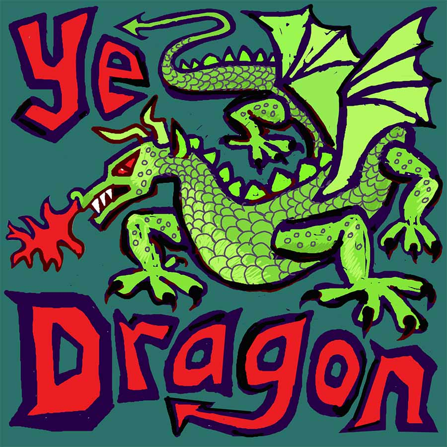 Ye Dragon pop up pub