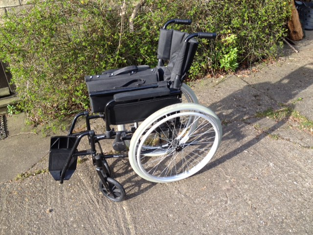 Wheelchair for loan