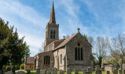St Michael's Church, Great Gidding May 2019