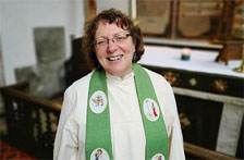Come and welcome our new Vicar Revd Canon Fiona Brampton
