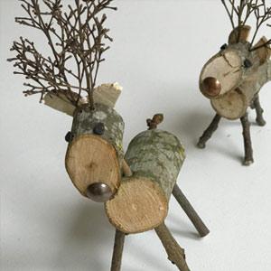 Gidding Christmas Cornucopia - reindeer