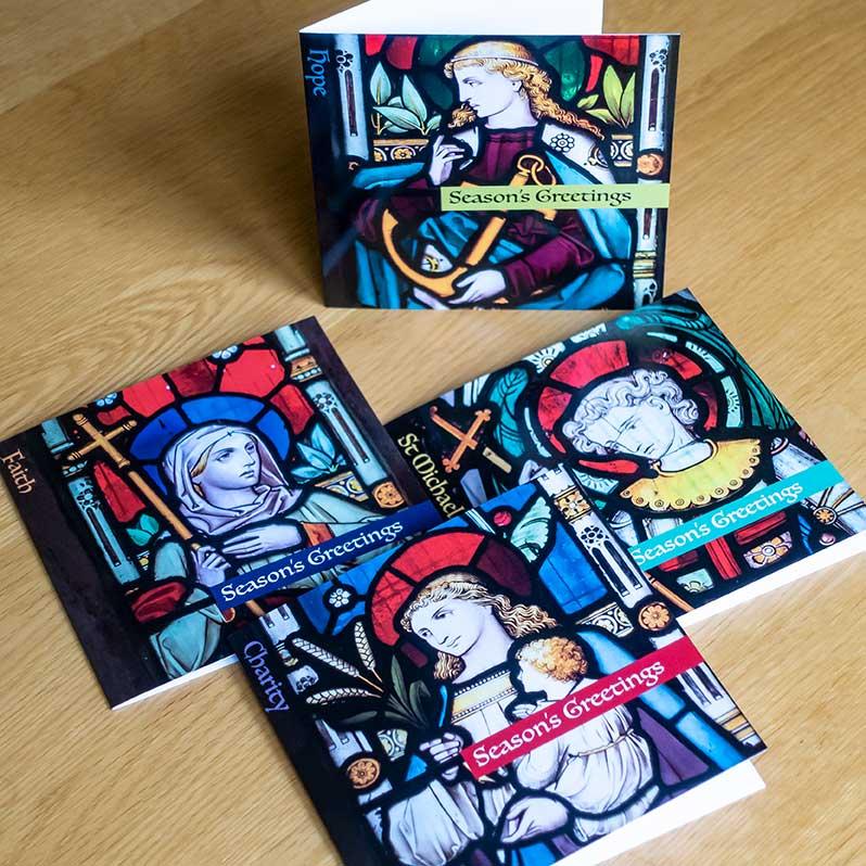 Gidding Christmas Cornucopia - Paul Crank greetings cards