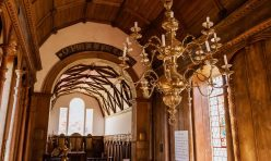 St John's Church Little Gidding - William Hopkinson chandelier
