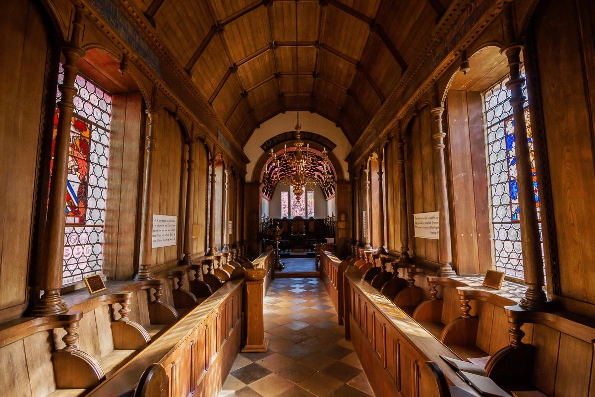 St John's Little Gidding - interior