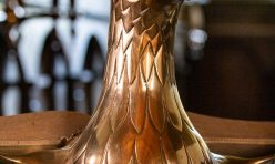 St John's Church, Little Gidding - Brass Eagle Lectern