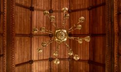 St John's Church, Little Gidding - William Hopkinson chandelier