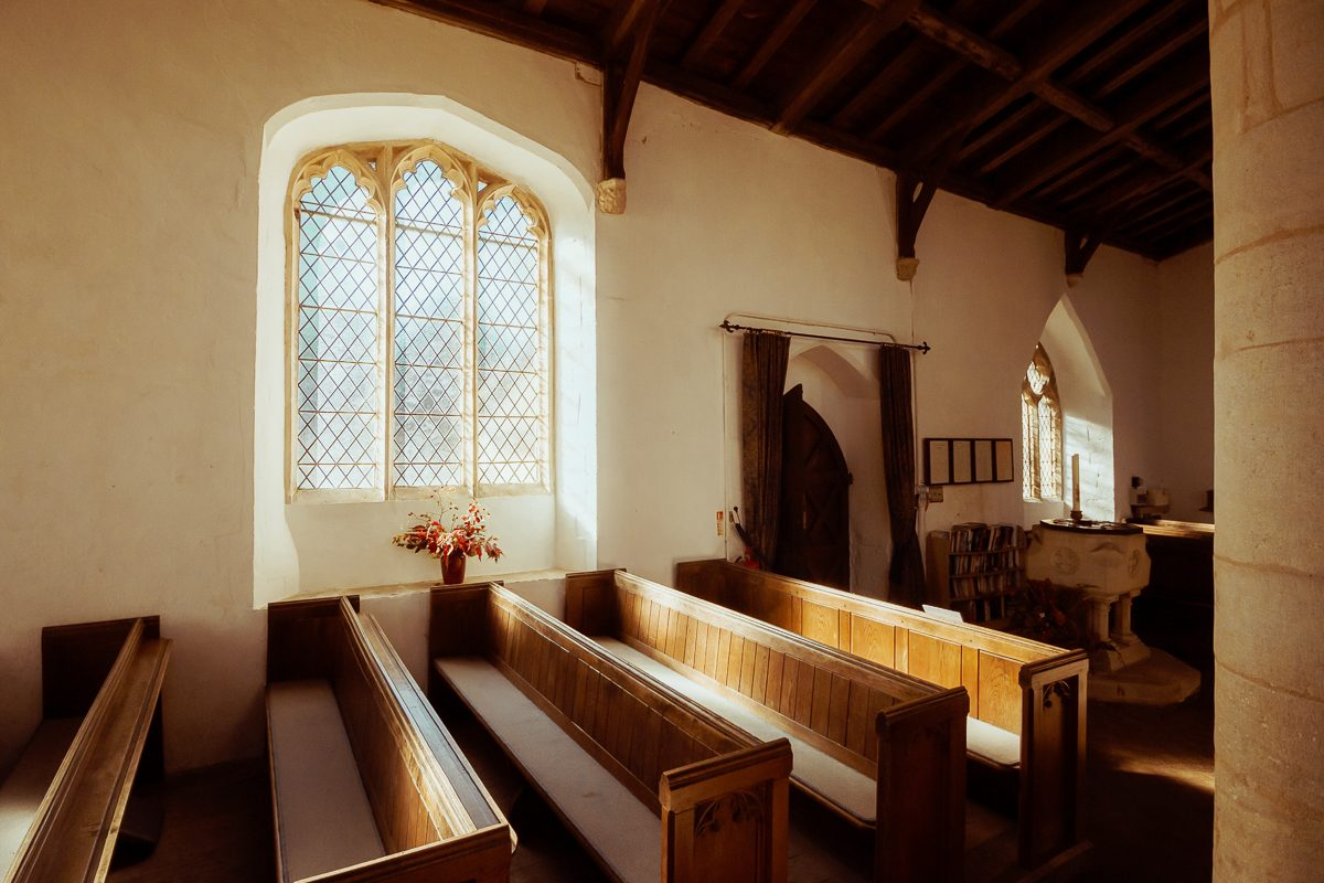 Interior of St Michael's Church, Great Gidding