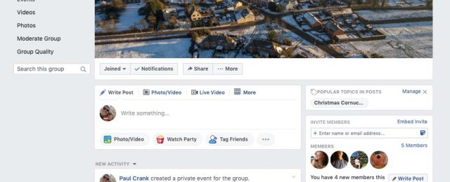 Join The Giddings Facebook group.