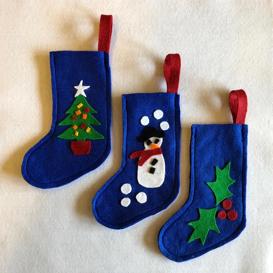 Baby stockings - Gidding Christmas Cornucopia