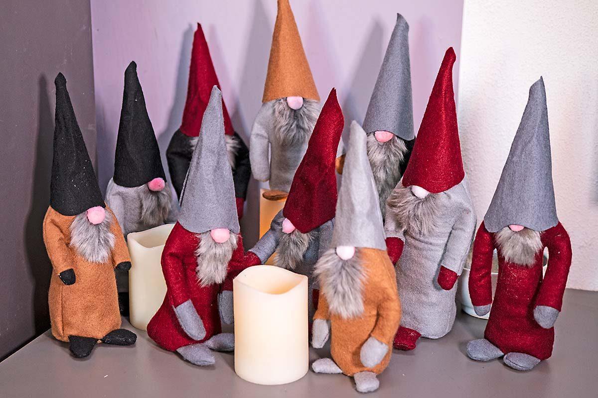 Felt gnomes - Gidding Christmas Cornucopia