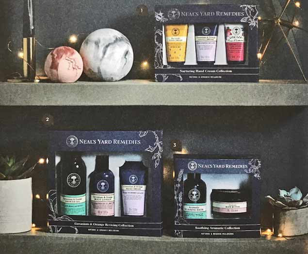 Neal's Yard beauty products - Gidding Christmas Cornucopia