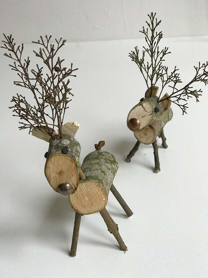 Wooden reindeer - Gidding Christmas Cornucopia