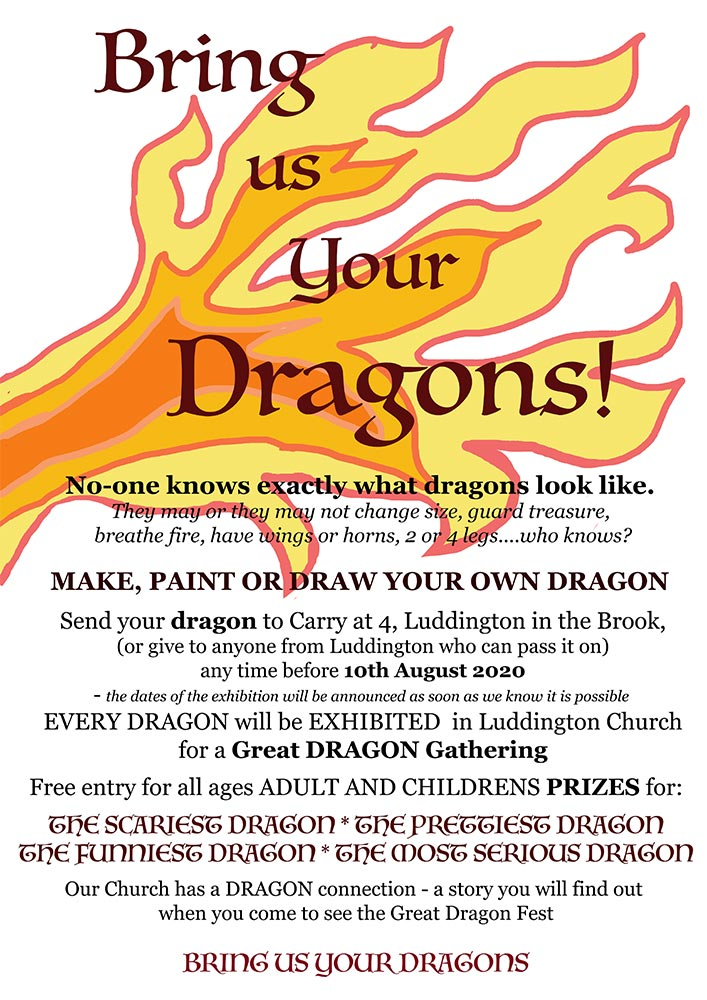 Bring us Your Dragons poster