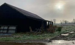 Barn on Mill Road, Great Gidding Jan 21