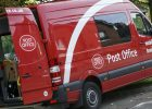 Post Office van in Great Gidding