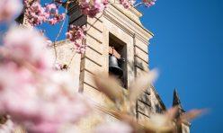 St John's Church, Little Gidding in Spring