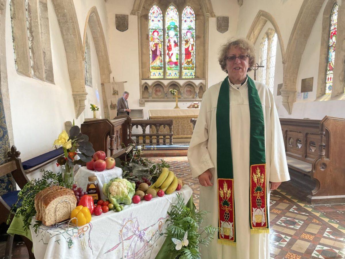 Fiona Brampton, St Michaels Church
