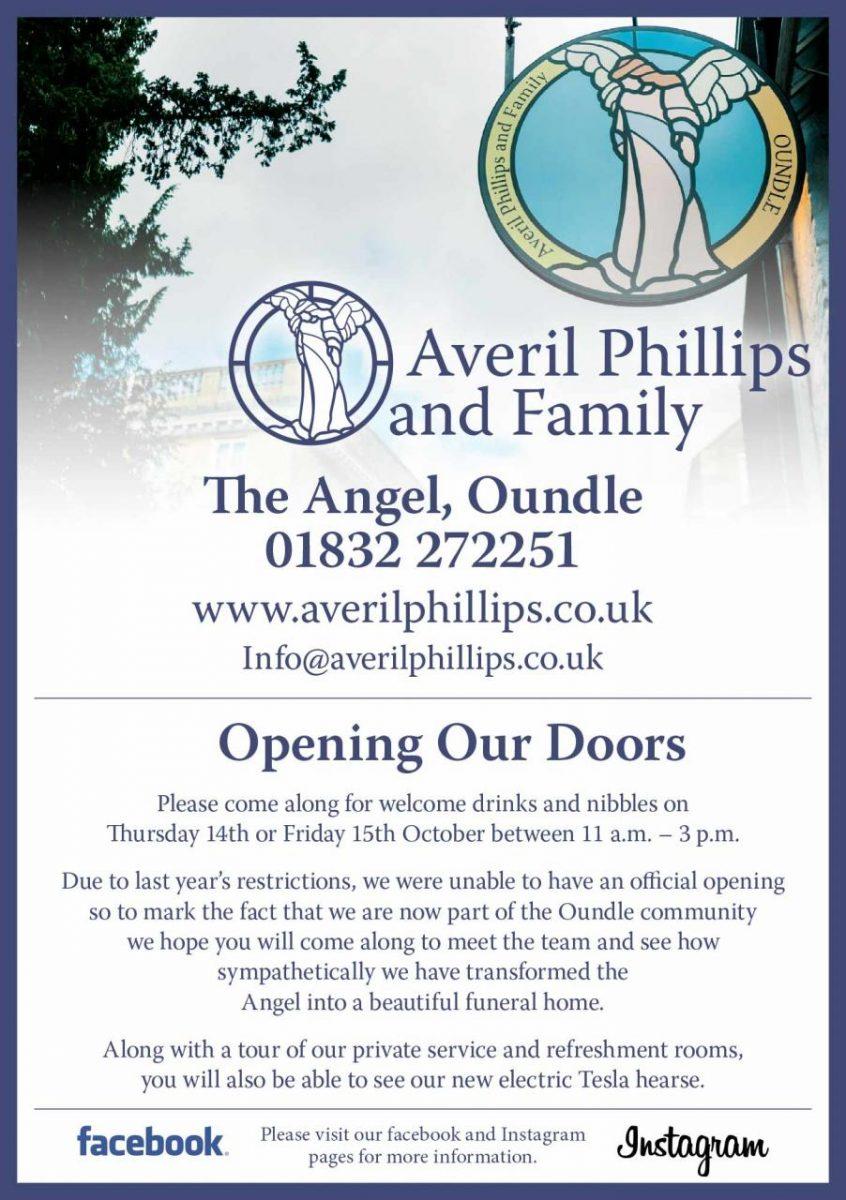 Averil Phillips invite